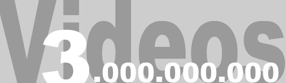 3 Milliarden Videoabrufe an einem Tag