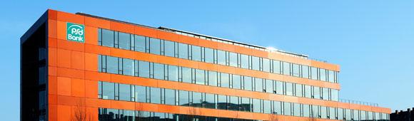 Hauptsitz der PSD-Bank Westfalen-Lippe in Münster