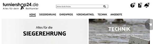 Turniershop24 - Reitvereins Liebling