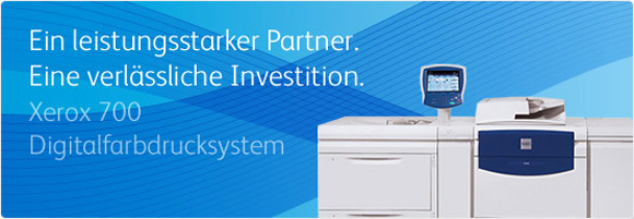 XEROX 700 Digitaldrucksystem High Performance