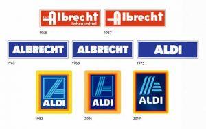 Die Logo-Historie von Aldi Süd